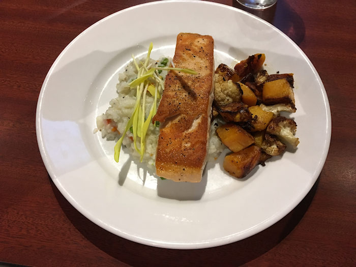 Try The Grilled Salmon On The New Menu Rails Craft Brew Eatery